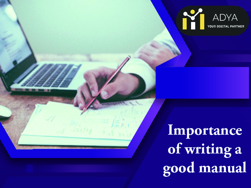 Importance of Manual Writing